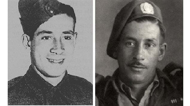 Sgt. Charles Henry Byce, DCM, MM,  Lake Superior Reg't (Motor), shown at age 24 left, and right presumably at least a couple of years later.