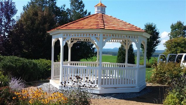 A company in Quebec offered to donate and build one of their gazebos to the city for free, the offer was turned down.
