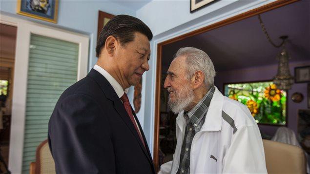El presidente chino, Xi Jinping estuvo en Cuba en julio de 2014.
