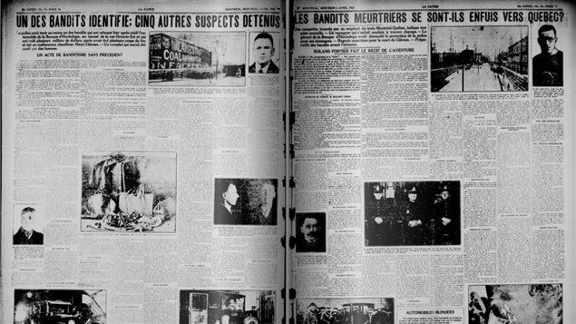 Extrait du journal La Patrie, édition du 24 octobre 1924