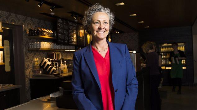 Rossann Williams, presidenta de Starbucks Canadá.