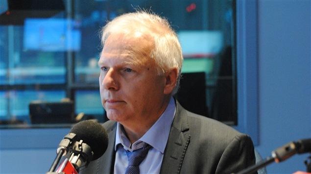 Claude rencontre le candidat à la direction du Parti québécois Jean-François Lisée.