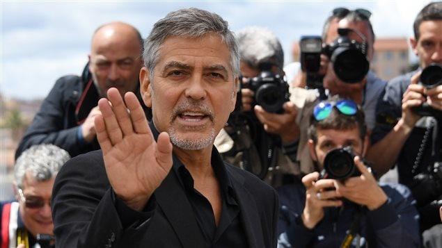 George Clooney lors du 69e Festival de Cannes