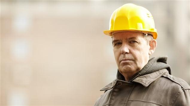Un travailleur âgé