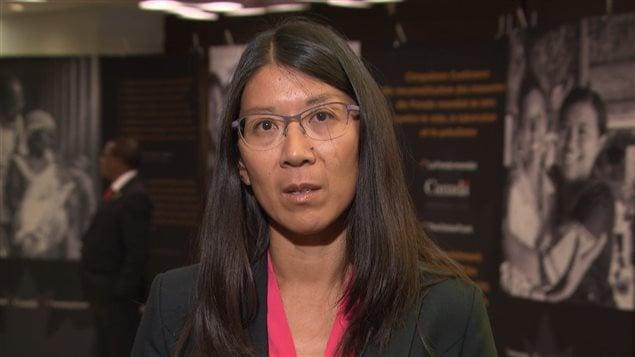Joanne Liu, presidenta de Médicos Sin Fronteras.