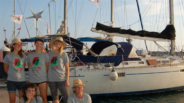 Un équipage féminin prend la mer pour mettre un terme au blocus de Gaza.