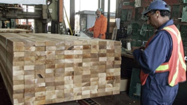 Canadian softwood lumber is used mostly in home construction. The report says the previous deal benefitted US wood producers while harming Canadian producers and American consumers