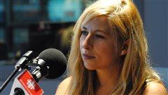 La chanteuse Cindy Bédard