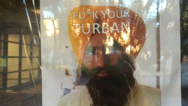 Des affiches racistes à l'Université d'Alberta