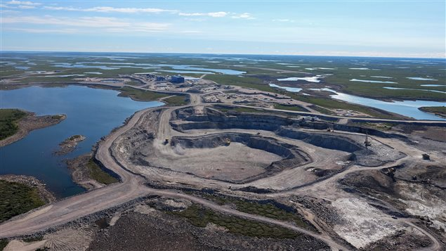 The Gahcho Kue diamond mine, located about about 280 kilometres northeast of Yellowknife in the Northwest Territories, is shown in a handout photo. THE CANADIAN PRESS/HO-De Beers Group of Companies