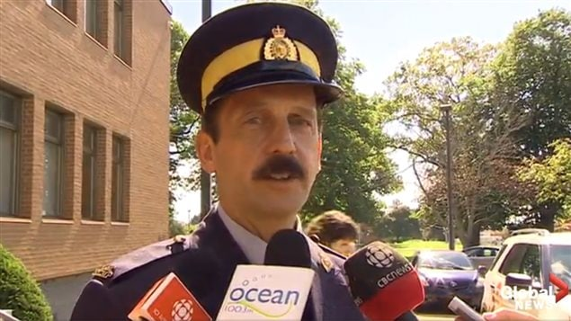 An RCMP spokesman said when the threat was recieved the emergency evacuation programme was initiated for all schools as a precaution. No bomb was found.