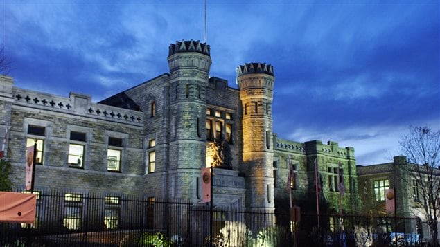 The fortress-like Royal Canadian Mint in Ottawa. security measures have been increased.