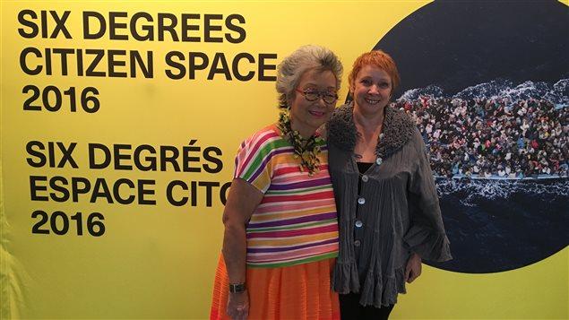 Adrienne Clarkson, co-fondatrice avec John Ralston Saul du Forum 6 degrés espace citoyen.