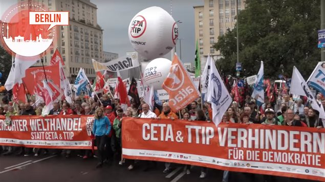 This past Saturday hundreds of thousands of Germans took to the streets in seven cities in major demonstrations against CETA and TTIP trade deals