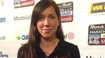 Dominique Arsenault, porte-parole Marathon Oasis Rock'n' Roll