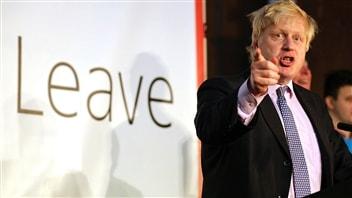Boris Johnson, l'un des leaders du mouvement Brexit, une incarnation du protectionnisme