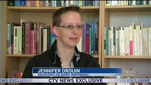 Jennifer Drouin interviewé par CTV