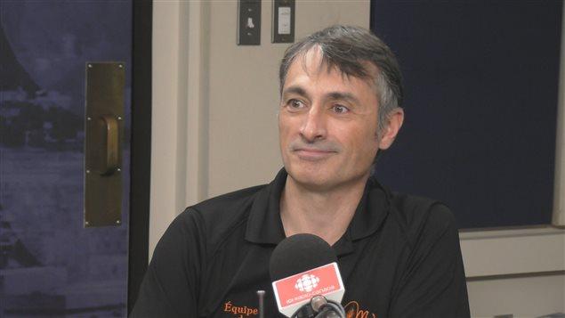 Martin Bertrand, enseignant et directeur de la production � la Voie Malt�e