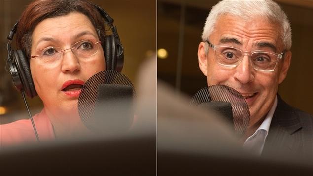Fatima Houda-Pepin et Robert Dutton