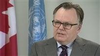 Siège au Conseil de sécurité de l'ONU : l'ambassadeur du Canada appelle à la mobilisation