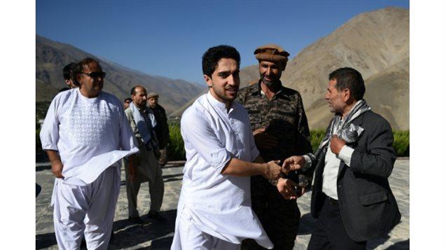Ahmad Massoud, le fils du commandant Massoud, le 'Lion du Panshir'