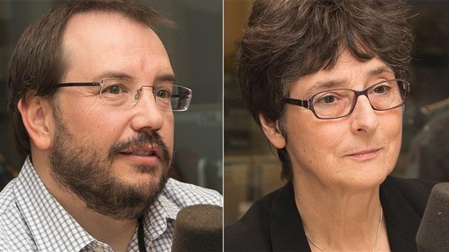 Patrik Marier et Anne-Marie Séguin
