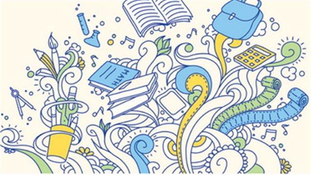 Illustration du livre Dans une classe � part histoires de profs inspirants de l'auteure Myl�ne Moisan