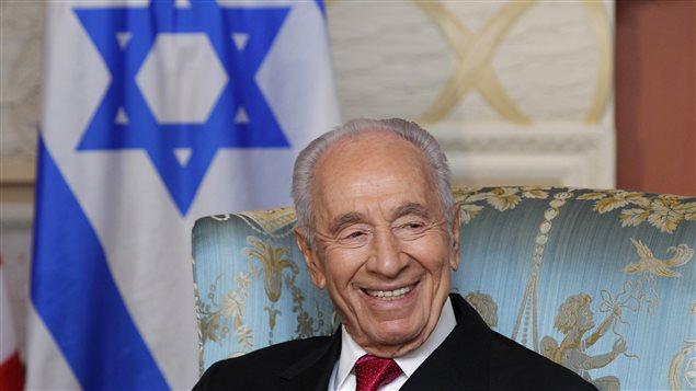 Shimon Peres,ex-premier ministre israélien et Nobel de la paix, est mort