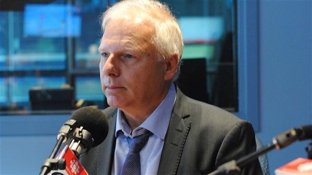 Jean-François Lisée, candidat à la course à la direction du Parti québécois