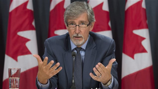 Privacy commissioner Daniel Therrien told a news conference that Canada 'should invest more in building robust privacy protection.'