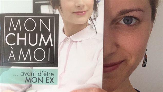 «Mon chum à moi... avant d'être mon ex», le livre de l'auteure Émilie Fanning.