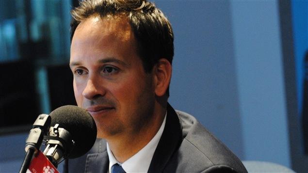 Alexandre Cloutier, candidat à la course à la direction du Parti québécois