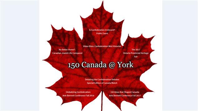 L'Université York de Toronto organise une série d'événements pour marquer les 150 ans de la Confédération canadienne.
