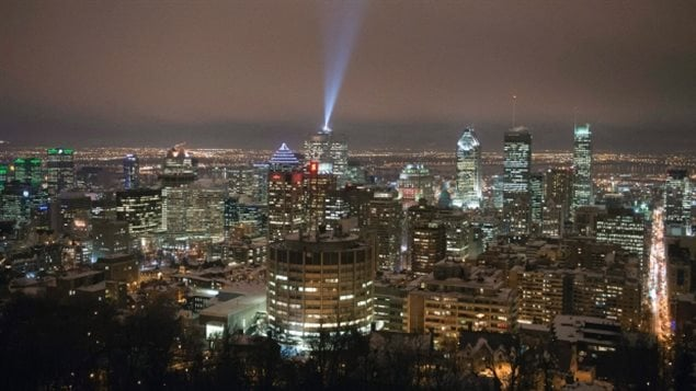 Montreal Feb 2015: It's very hard to see the stars in an urban environment at any time due the vast amount of ambient light, or light pollution