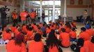 La Journée du chandail orange soulignée à Saint-Laurent