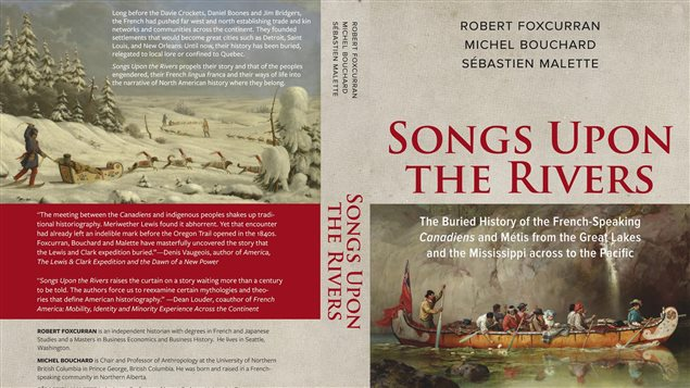 La jaquette du livre Songs Upon the Rivers