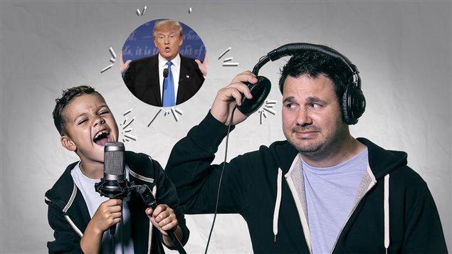 Olivier et Jean-Denis Scott parlent de Donald Trump.