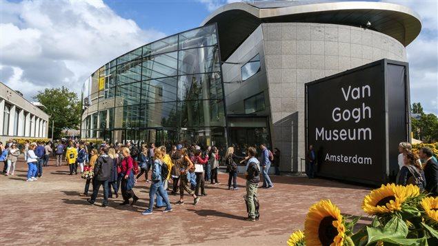 Le Musée Van Gogh, à Amsterdam où les tableaux avaient été volés.