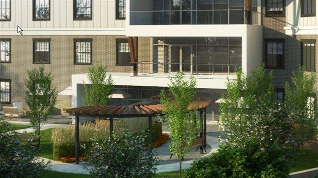 Le nouveau Foyer Maillard à Coquitlam.