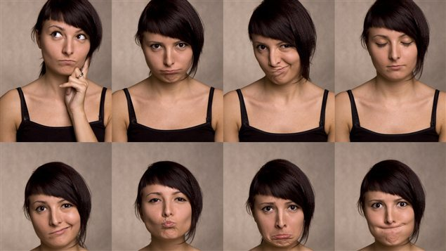 Selon le Dr Sadr et son équipe, la position des sourcils exprime toute une panoplie d'émotions.