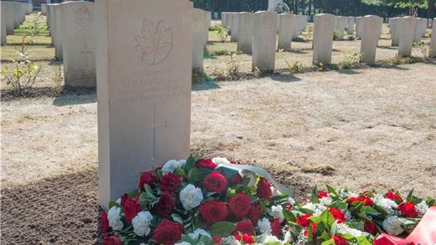 Private Kenneth Duncanson now lies in his final resting place at the Adegem Canadian War Cemetery, near Brugge, Belgium, on September 14, 2016. Private Duncanson died exactly 72 years ago during World War 2.