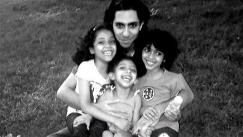 Raïf Badawi et ses enfantsCrédit photo : Radio-Canada
