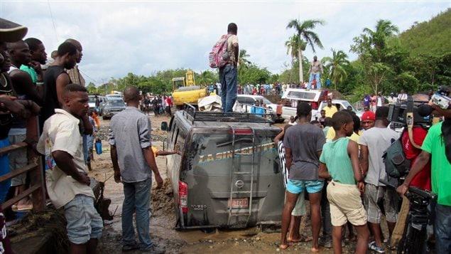 Los estragos causados por el huracán Matthew en Haití
