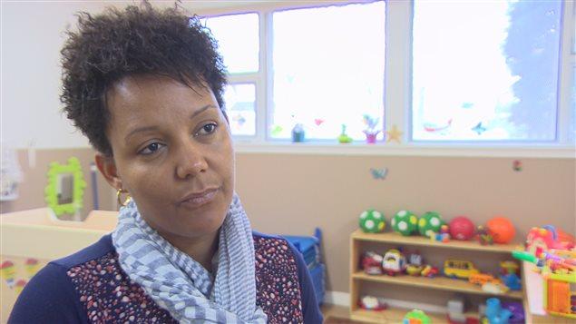 La directrice de la garderie Des Bambins, Thérèse Musafiri