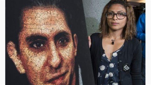 Raif Badawi et son épouse Ensaf Haidar – Presse canadienne