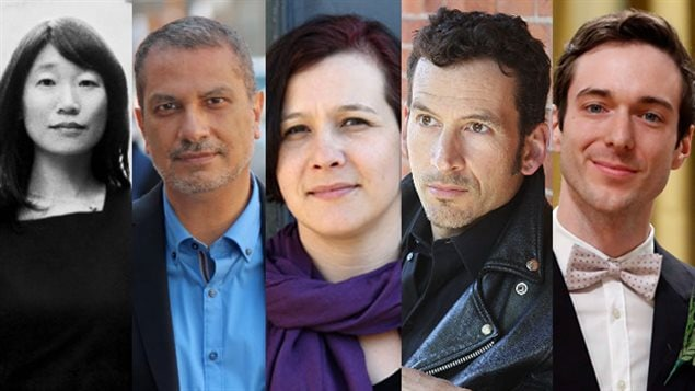 From left: Madeleine Thien, Kamal Al-Solaylee (photo by Gary Gould), Katherena Vermette (photo by Lisa Delorme Meiler), Steven Heighton and Jordan Tannahill are shortlisted for the 2016 Governor General's Literary Awards Many excellent Canadian authors and other creators get little exposure aoutside Canada. The Frankfurt fair will provid a huge boost to Canada's literary cultural industry