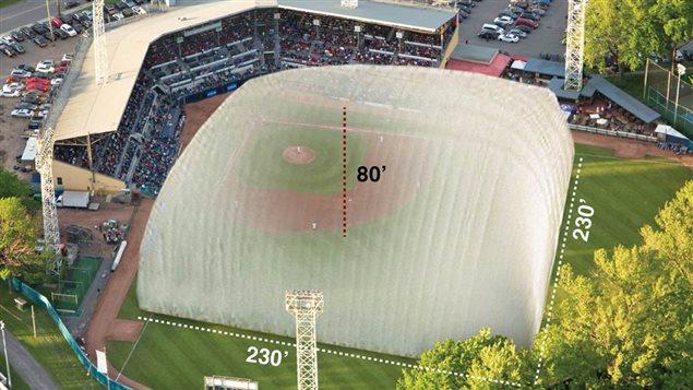 Un dôme sera construit au-dessus du stade municipal de Québec