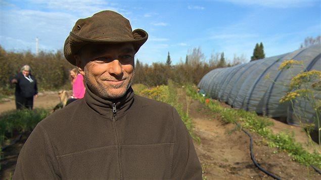 Claude Lussier, directeur de la coopérative Le Grenier boréal, à Longue-Pointe-de-Mingan.
