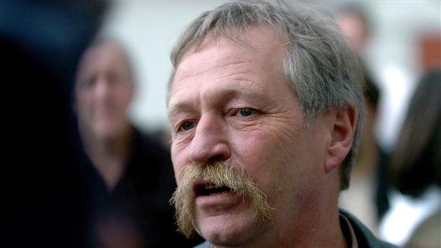 José Bové, en 2007, en France, alors qu'il était militant antimondialiste