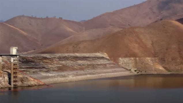 Barren dusty hills, and reservoirs at record lows. Climate change is causing massive disruption to California, a food basket to North America